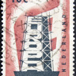 Europa post stamp — Stock Photo