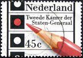 Dutch post stamp — Stock Photo