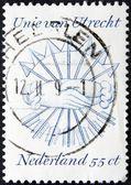 Unie van Utrecht on a dutch post stamp — Stock Photo