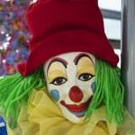 Portrait of a clown — Stock Photo