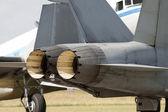 Jet engine power — Stock Photo