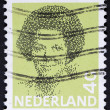 Portrait stamp from Netherlands — Stock Photo
