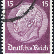 Vintage german stamp — Stock Photo
