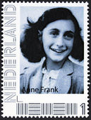 Portrait of anne frank — Stock Photo