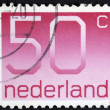 Postage stamp Netherlands  — Stock Photo