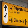 Just departures — Stock Photo