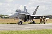 Jet de combate — Foto de Stock