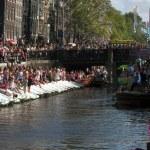 Gay pride Amsterdam — Stock Photo #35429177
