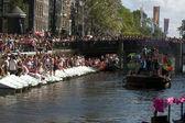 Gay pride Amsterdam — Stock Photo