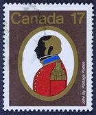 Ročník poštovní známce — Stock fotografie
