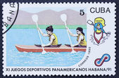Olympic rowing — Stock Photo