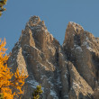 Peaks in the dolomites — Stock Photo