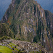 Machu picchu with huge Huayna Picchu — Stock Photo