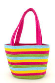 Bag for shopping or the beach — Stock Photo