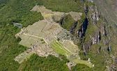 Machu Picchu top view from Huyana Picchu — Stock Photo