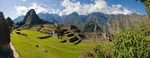 Machu Picchu in th early afternoon — Stock Photo