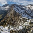Alpine panorama — Stock Photo