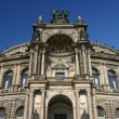 Stock Photo: Semper Operhouse Dresden Germany low angle