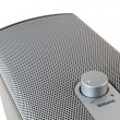 Ludspeaker mesh with volume control — Stock Photo