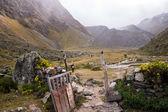 Porta aberta para a experiência de trekking — Foto Stock