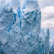 Perito Moreno glacier in Argentina close up — Stock Photo