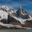 Cerro Torre at perfect weather no clouds!!! — Stock Photo
