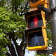 Stock Photo: Traffic light in Buenos Aires