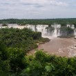 Stock Photo: Iguacu falls seen from braziliside
