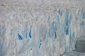Perito Moreno glacier in Argentina detail — Stock Photo