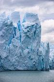 Fechar o glaciar perito moreno na argentina — Foto Stock