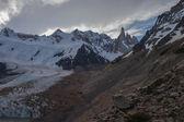 Cerro Torre wide view — Stock Photo