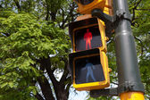 Traffic light in Buenos Aires — Stock Photo