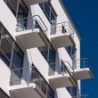 Stock Photo: Bauhaus Dessau residental home detail