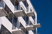 Bauhaus Dessau residental home detail — Stock Photo