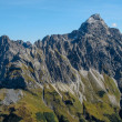 Stock Photo: Impressive alpine peak close to Oberstdorf