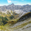 Impressive valley close to Oberstdorf — Stock Photo