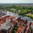 Stock Photo: Luebeck overview