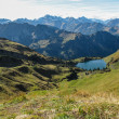 Stock Photo: Lake in alpine surrounding