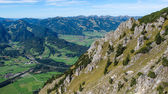 Valley near Oberstdorf — Stock Photo