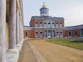 Marmorpalais Potsdam with pillars — Stock Photo