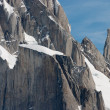 Stock Photo: Detail of Cerro torre