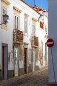 Narrow street in Portugal — Stock Photo