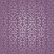 Violet and silver  luxury vintage wallpaper - Stock Vector
