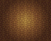 Tmavě hnědé vinobraní tapety design — Stock vektor