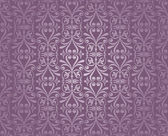 Violet and silver luxury vintage wallpaper — Stock Vector