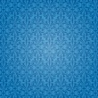 Blue vintage background wallpaper design — Vector de stock #23820309