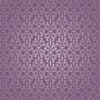 Royalty-Free Stock Vektorov obrzek: Violet and silver  luxury vintage wallpaper