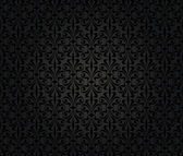 Black vintage wallpaper background design — Stock Vector