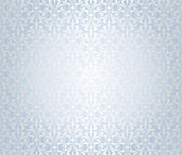 Blue & silver holiday background — Stok Vektör