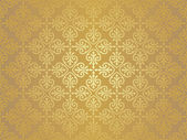 Ocher vintage wallpaper — Stock Vector